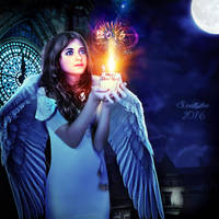 New year angel by Sweetlylou