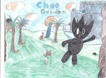 Chao garden by Meandmyshadowclones
