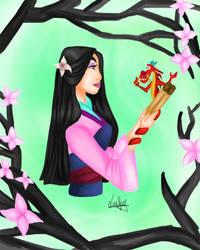 Princess Disney: Nostalgia Mulan by Laefey