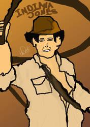 Indiana Jones  by Deadobeat