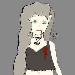 vampire girl by Deadobeat