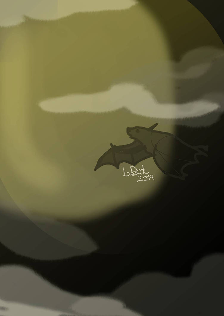 Bat moon by Deadobeat