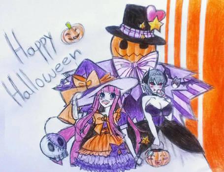 Happy Halloween  by CrimsonCurce