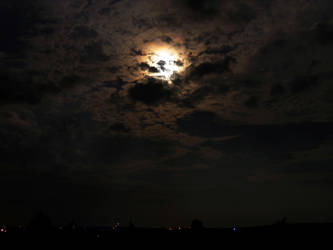 Moonlit Clouds by darkcravings23