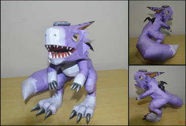 Dorumon Papercraft V2 by ldsquillace