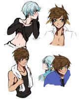 Just sketches by SaKaju