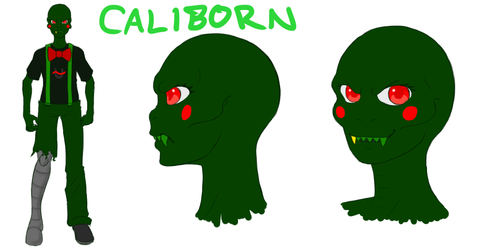 Concept Art Contest R2 6/6 - Caliborn by SanchaySquirrel