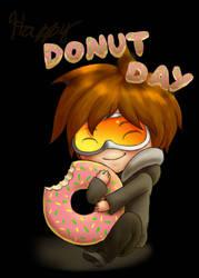 Donut Day by SanchaySquirrel