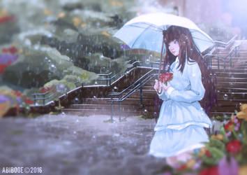 Rain of Peace by abiboge