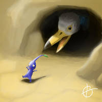 Pikmin: Lone in the Desert by amunition