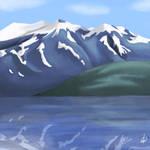Alaskan mountains by amunition