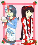 Grace and Sue from nikisawesome by Kido-taufan