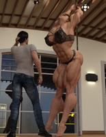 Sonya Learing to Pole Dance Part 4 by ReddofNonnac