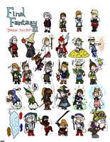 Final Fantasy 3 by Luprand