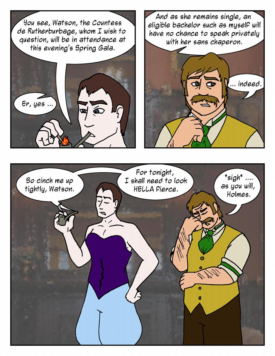 Sherlock Holmes: What a Drag by Luprand