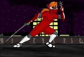 Scarlet Ninja, January '06 by Luprand