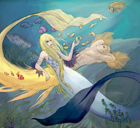 the king and queen of the sea by cannotescape