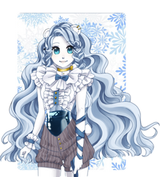 [Original] Ice Bear Girl by Kumanbachi