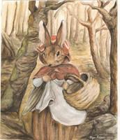Beatrix Potter Rabbit by mayu-chan6