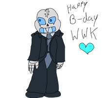 Mecha Sans Wishes... by D0omy