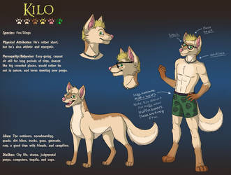 Refsheet Commission - kiloechovictor by Daphianna