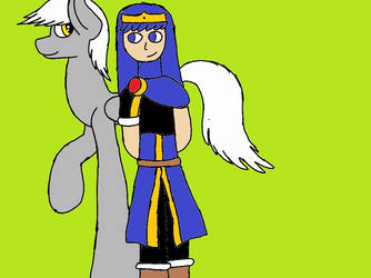 Excalibur and Klum by KlumTheGreatHero