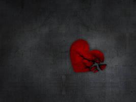 broken heart by c1ko