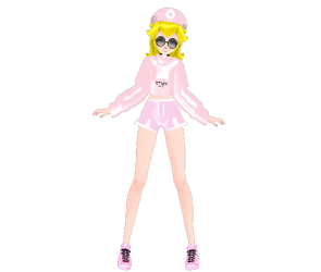 [MMD] Princess Peach Tumblr DL by ToddynhoIce