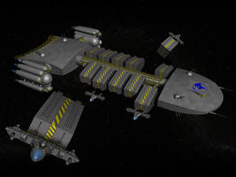 freighter concept by MartinStg