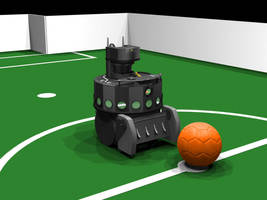 RoboCup Roboter by MartinStg