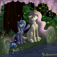 Celestia and Luna - Fireflies by DreamyArtCosplay