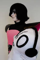 Mettaton with Napstablook by DreamyArtCosplay