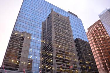 Royal Bank Building Reflected by mc1964