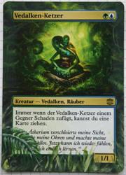 Altered Card -Vedalken Heretic by DarkPati