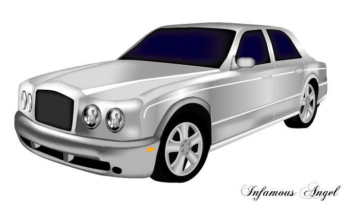 Silver Bentley Vector By Infamous Angel On Deviantart