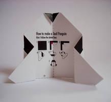 Devil Penguin Namecard 02 by devil-penguin