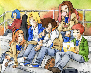 High School Days by jsheaisaninja