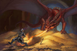 Burning Encounter by TomasBj