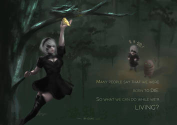 2B: What is life by Sparoapple