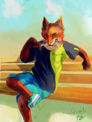 Mr fox by Sparoapple