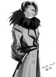 wind coat by Sparoapple
