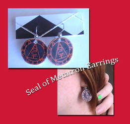 Seal of Metatron Earrings by YourRain