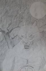 The Werewolf by roquana