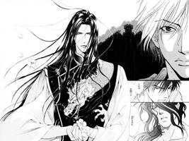 Manga Wallpaper by Tenshii-sama