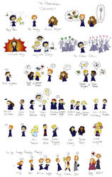 Potterverse part I: students by naga-wikka