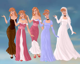 Cinderella's Outfits by Snyder0101