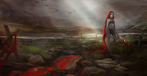 Andraste : Goddess of War by Kiy5