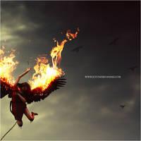 Her Black Wings - Detail by EltonFernandes