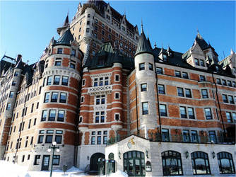 Chateau Frontenac by Darkprincess92