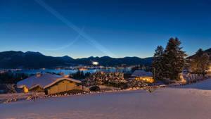 Tegernsee in Deep Snow by celdaran